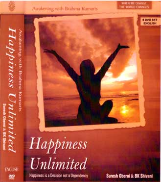 Happiness Unlimited – by Sister Shivani & Suresh Oberoi Set of 8 DVDs  (English)